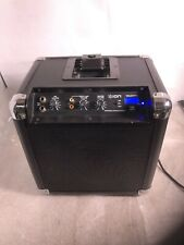 Used ION Tailgater Portable System Radio Ipod Dock AM FM