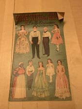 Gone With The Wind Uncut Paper Doll Book, Merrill, See Notes