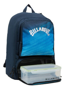 NEW BILLABONG MENS BOYS BACKPACK SCHOOL BAG LAPTOP JUGGERNAUGHT LUNCH BOX 30L