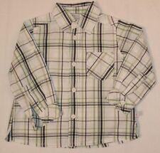 Kanz karierte Baby-Hemden für Jungen