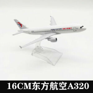 16CM Eastern Airlines A320 Solid Passenger Airplane Plane Aircraft Metal model