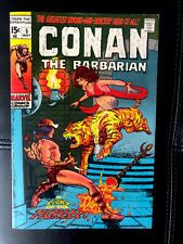 Conan The Barbarian 5 High Grade White Pages 9.4 In CGC 💎