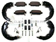 REAR BRAKE PADS & HANDBRAKE SHOES & FITTING KIT FOR NISSAN QASHQAI J10 2007-2013