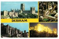 Durham, England Rare Vintage Multiview Postcard