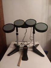 Playstation PS2 PS3 RockBand Drum Set With foot Pedal harminex USB wired