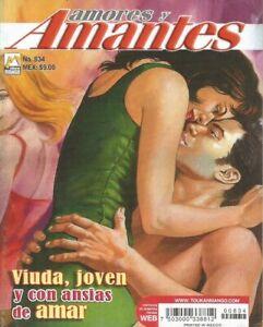AMORES Y AMANTES MEXICAN COMIC #834 MEXICO SPANISH HISTORIETA 2014 ROMANCE