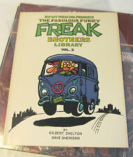 The Fabulous Furry FREAK Brothers Library Vol 2 Gilbert Shelton Rip Off Press 88