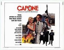 AL CAPONE original 1975 22x28 movie poster BEN GAZZARA/SUSAN BLAKELY