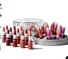RRP£135 Brand New In Box Genuine Mac Cosmetics Surefire Hit Mini Lipstick X12💋