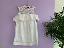 ❤️❤️ New Look women's sexy party white DRESS size 10  EU S Holiday