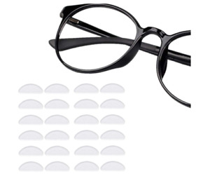 Nose Pads For Glasses Silicone Self Adhesive Spectacles Nosepads 12 Pairs Clear