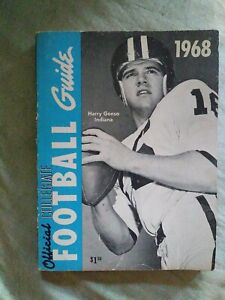 1968 College Football Information Media/Press Guide