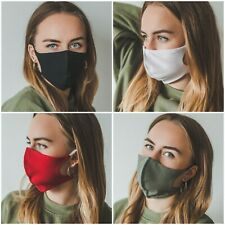 Face Mask Mouth Protection Cover Washable Breathable Reusable UK Cotton Virus