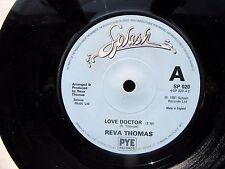 "REVA THOMAS Love Doctor-Detour Splash 7"" 1981 Excellent Rare New Wave"