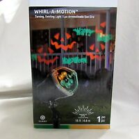 Gemmy Lightshow Projection Whirl A Motion Happy Halloween Jack O Lantern Light