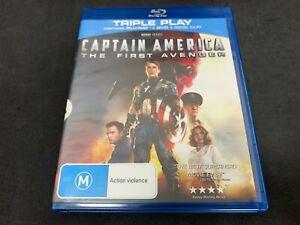 Captain America: The First Avenger (Chris Evans) (2011) (M15+, Blu-Ray, B)