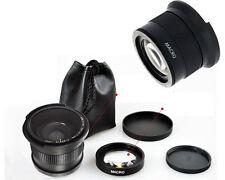 0.35x Super Fisheye Wide Angle Lens 58mm for Canon 700D 650D 550D 1100D 1000D