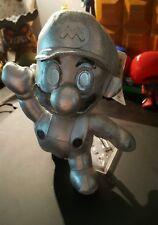 Original Banpresto Metal Mario Plush Figure w/ Tag Nintendo UFO Rare Great 1996