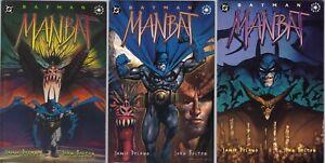 DC - Batman: Manbat Elseworlds Prestige Format Mini Series 1-3 1995 John Bolton
