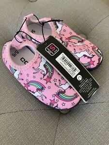 NWT Kids Water Shoes Size 5/6 Unicorn