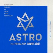 ASTRO [SUMMER VIBES] 2nd Mini Album CD+Photobook+Post Card+3p Card K-POP SEALED