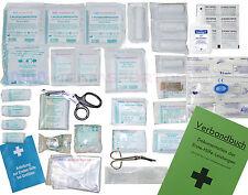 Komplett-Set Erste-Hilfe DIN/EN 13157 PLUS 2 für Betriebe inkl. Desinfektion