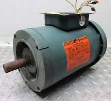 1 HP RELIANCE ELECTRIC P14G9256S 1725 RPM 3 PHASE 230/460 V ELECTRIC MOTOR (D,07
