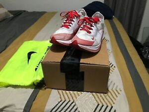 Nike Zoom Fly SP size 9.5 Nike Running white/red