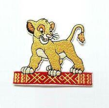 1 Écusson Brodé Thermocollant NEUF ( Patch ) - Le Roi Lion Simba Disney (Ref 2)