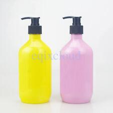 Wholesale Empty Plastic 500ml 17 oz Lotion Pump Bottles for Soap Gel Shampoo