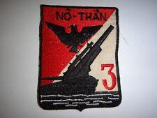 "ARVN 3rd Marine ARTILLERY Battalion ""NO THAN"" Divine Crossbow Vietnam War Patch"