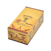 50 x Booklet HORNET Natural 1 1/4 Cigarette Tobacco Rolling Paper 78mm