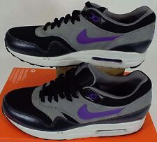 RARE SAMPLE New Mens 9 NIKE Air Max 1 Essential Grey Purple Shoes 537383-005
