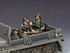 KING & COUNTRY WW2 GERMAN ARMY WS231 2 SITTING SOLDIERS OR VEHICLE PASSENGERS MB
