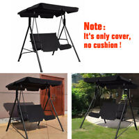 Replacement Canopy for Swing Seat Garden Hammock 2 3 Seater Spare Cover Sunshade