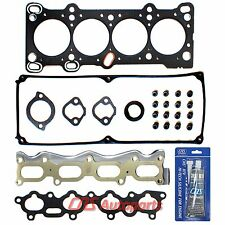 Head Gasket Set+Silicone for 1992-1995 KIA SEPHIA MAZDA MX3 323 SOHC 16V B6