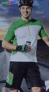 Herren Radhose Fahrradhose Radlerhose Radshorts Radlershorts Radsporthose F