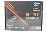 ASRock Fatal1ty B450 GAMING K4 AM4 AMD B450 SATA 6Gb/s HDMI ATX Motherboard NEW