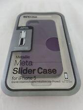 Incase Metallic Meta Slider Case for Apple iPhone 5 and 5s Purple Mauve CL69158
