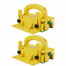 Micro Jig GR-100 GRR-Ripper Basic Precise Yellow 3D PushBlock System, 2-Pack