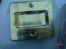 Trimco Pocket Door Passage Pull Gold