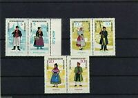 GERMANY NATIONAL COSTUME SE-TENANT BLOCKS,  MNH REF 925
