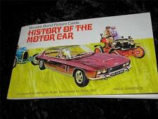 In Official Album Motor Cars/Bikes Collectable Tea Cards