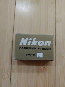 New old stock Nikon Focusing Screen Type k
