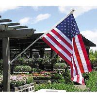 American Flag 4 X 6Nylon Embroidered Stars Sewn Stripes Heavy Duty USA Outdoor K