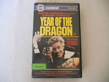Year Of The Dragon - Mickey Rourke - Cannon Video Big Box Edition
