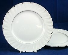 Harmony House HEIRLOOM 2 Salad Plates Great Trim 3512 GREAT CONDITION