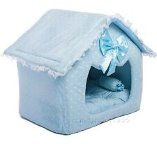 Prince Cute Blue Pet Dog Cat Sofa Bed/House M,L