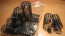10 Stück Futterkorb mit Wirbel - Metall 50g Handarbeit
