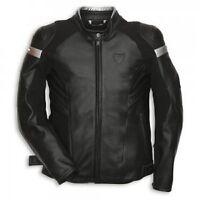 Ducati Dark Armour Leather Motorbike Motorcycle Mens Jacket 54 44 56 46 NEW